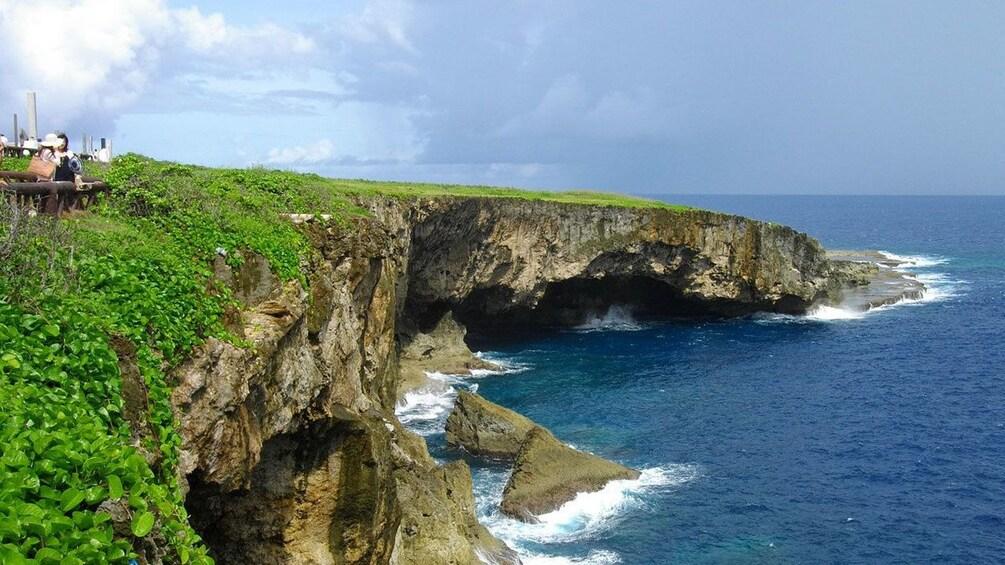 Show item 1 of 5. Coastal cliffs in Saipan