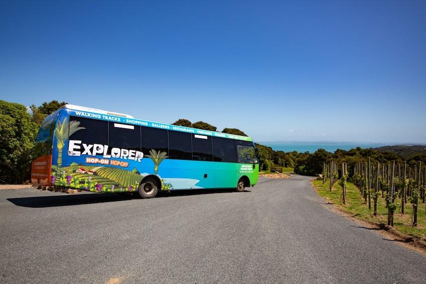 Waiheke Explorer Hop-On Hop-Off Bus Tour
