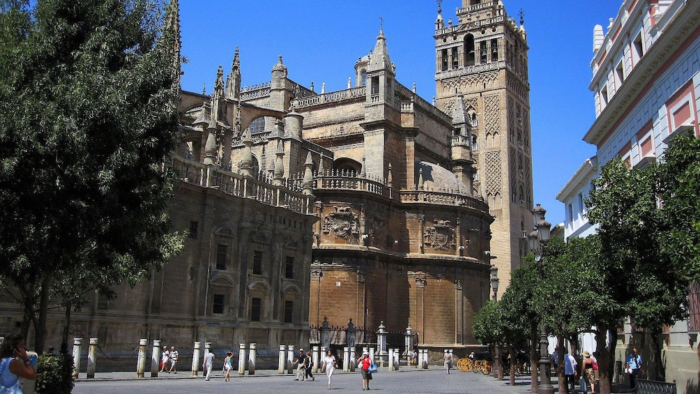 Show item 5 of 5. View from courtyard of Giralda in Seville