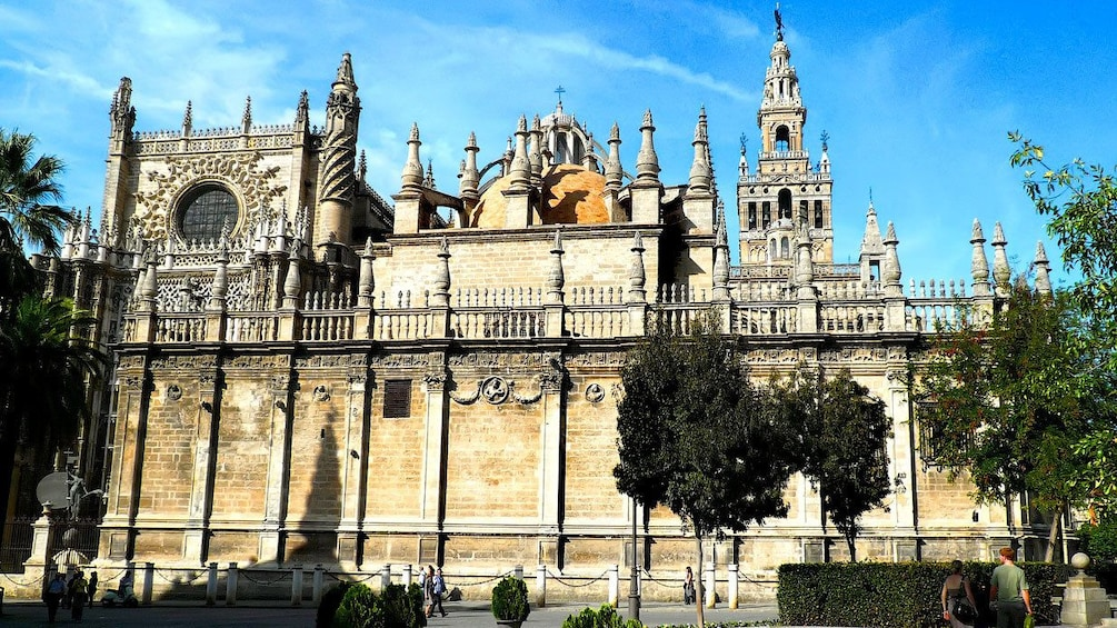 Show item 1 of 5. View of Cathedral in Seville