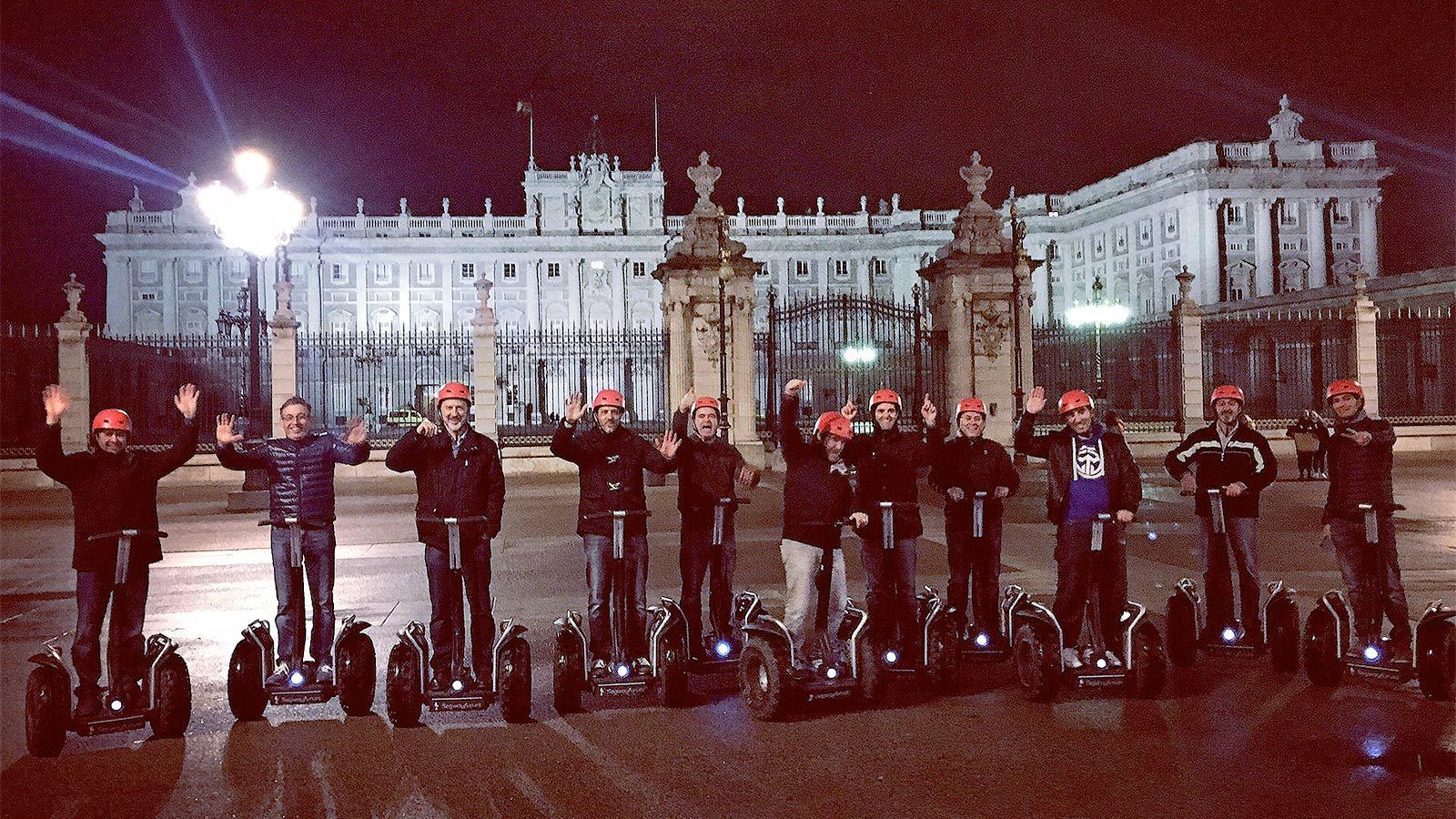 Group Private Segway Night Tour of Madrid