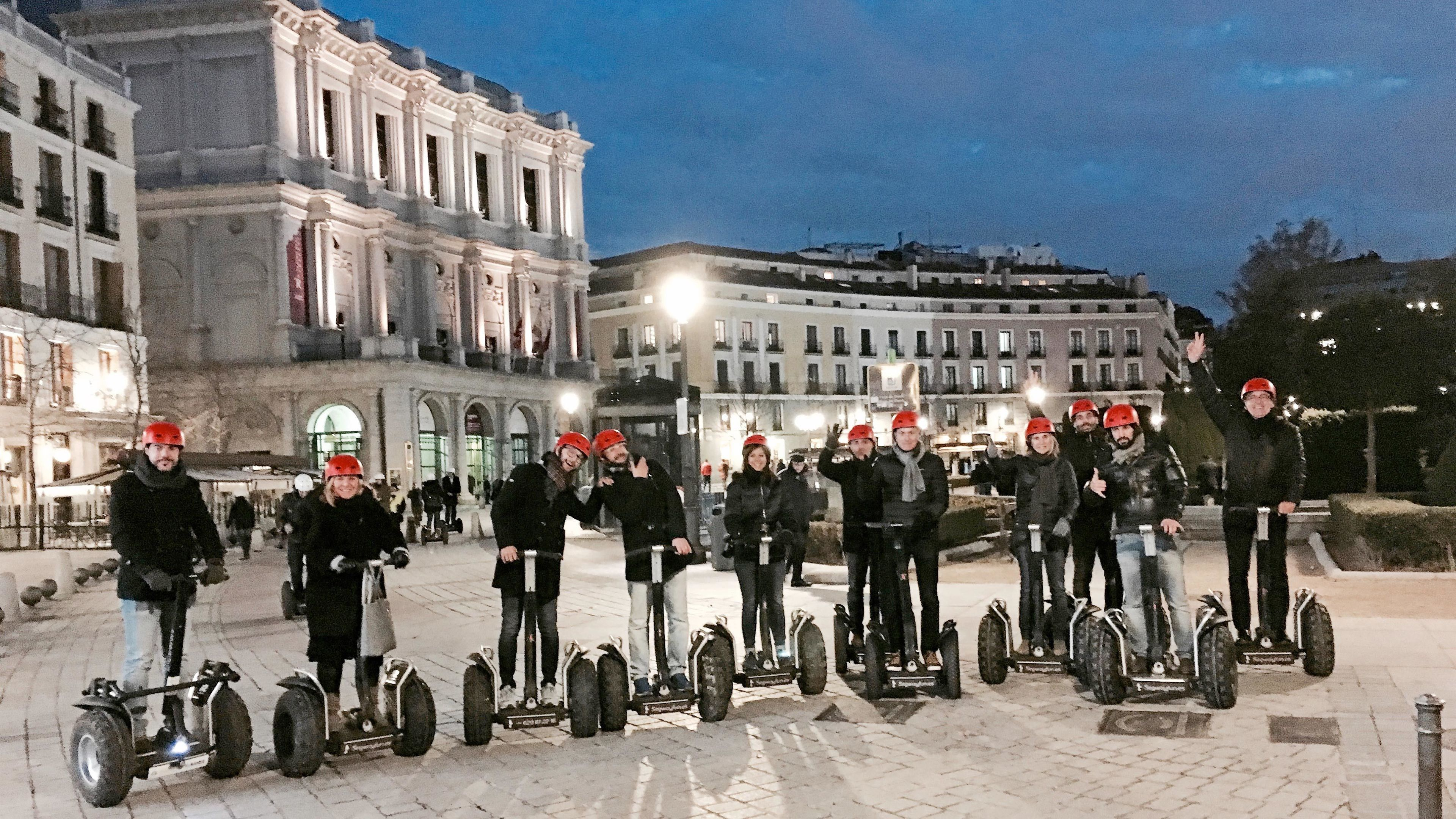 Private Segway Night Tour of Madrid