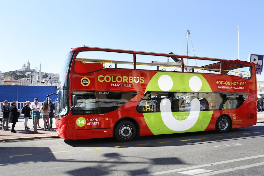 Show item 1 of 5. Colorbus Marseille Hop-On Hop-Off Sightseeing Tour