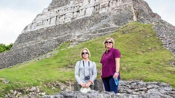Xunantunich Mayan Ruins with Cave Tubing