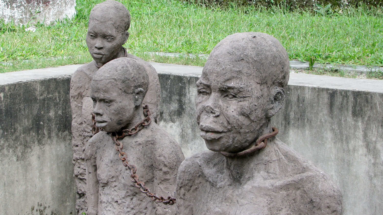 Sculptures in Stone Town, Zanzibar City
