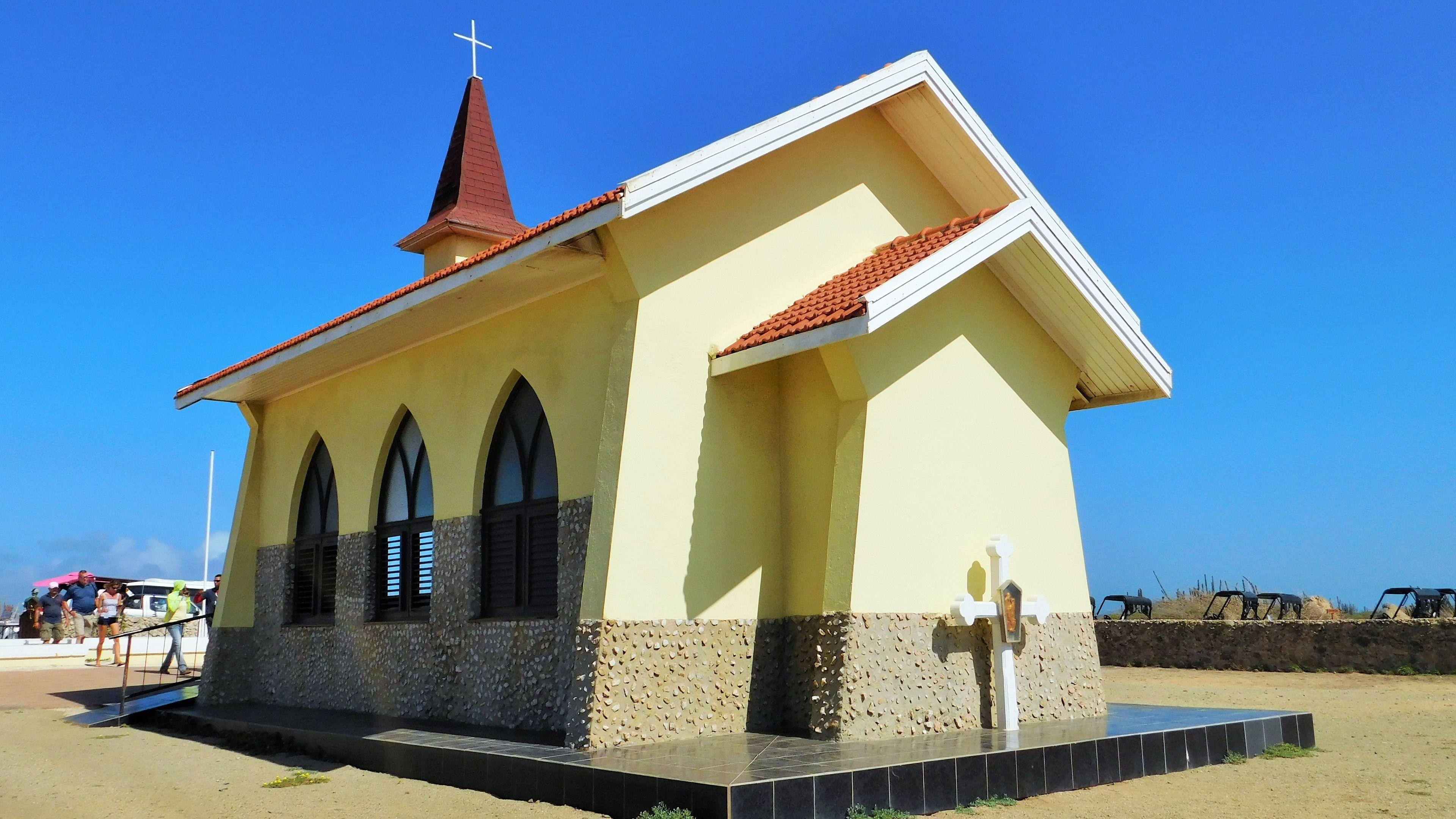 Small cathedral in Aruba