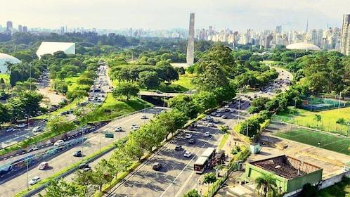 Panoramic view of São Paulo
