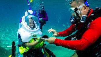 Privates Sea-Trek-Taucherlebnis für Personen mit eingeschränkter Mobilität