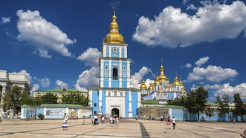 Guided Driving City Sightseeing Tour with St. Volodymyr's Cathedral