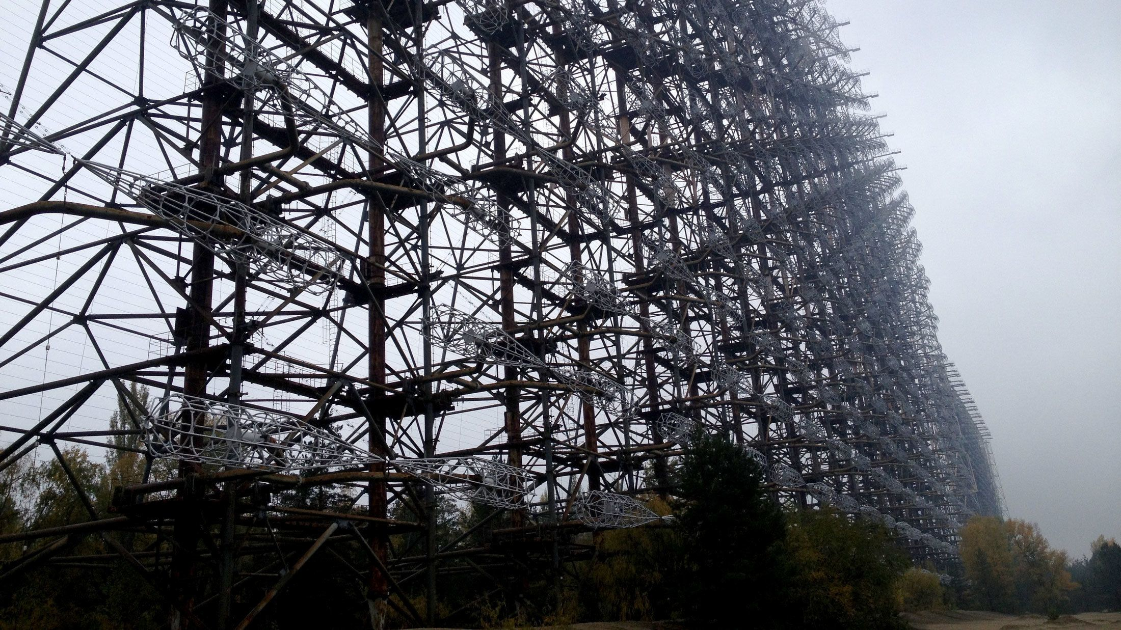 Duga Radar station in Chernobyl