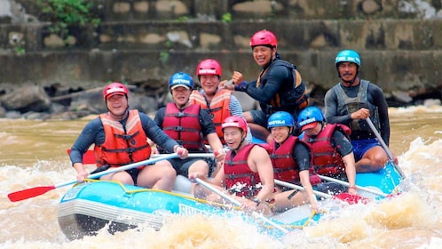Full-Day Padas River White Water Rafting Grade III-IV