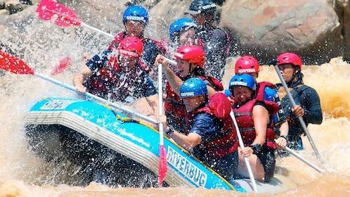 White Water Rafting Grade III-IV on Padas River