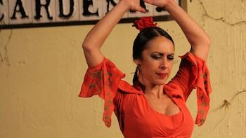 Spectacle de flamenco au Tablao el Cardenal