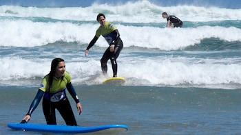 Surferlebnis für Anfänger in Famara