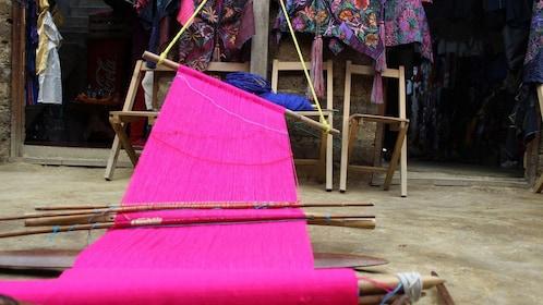A loom in Chiapas