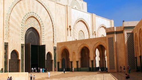 Hassan II Mosque exterior
