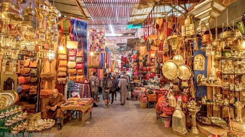 The Old Medina, Stores and shopping in Casablanca, Morocco