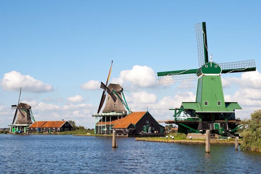 Show item 9 of 9. Hop-On Hop-Off Bus to Zaanse Schans, Edam & Volendam