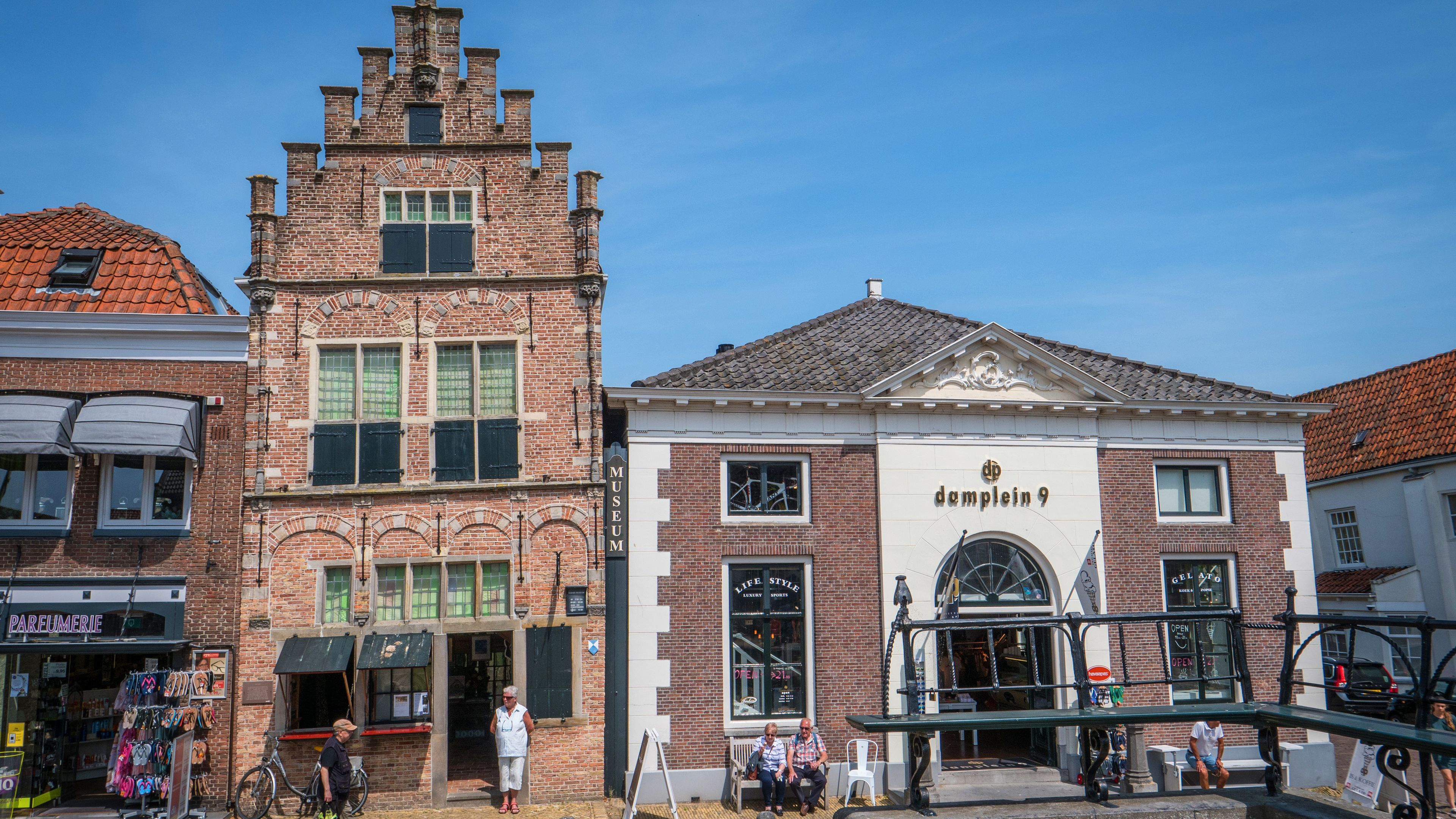 Exterior of buildings in Holland