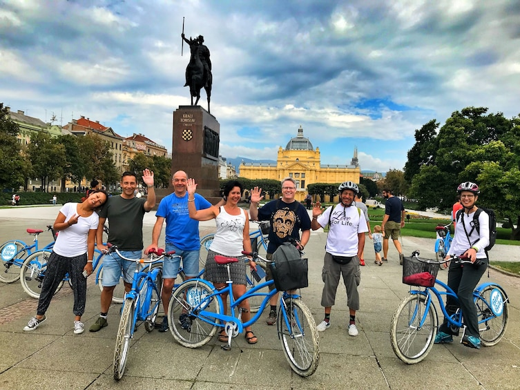 Show item 1 of 10. Small-Group Historic Zagreb Bike Tour