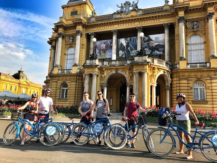 Show item 4 of 10. Small-Group Historic Zagreb Bike Tour