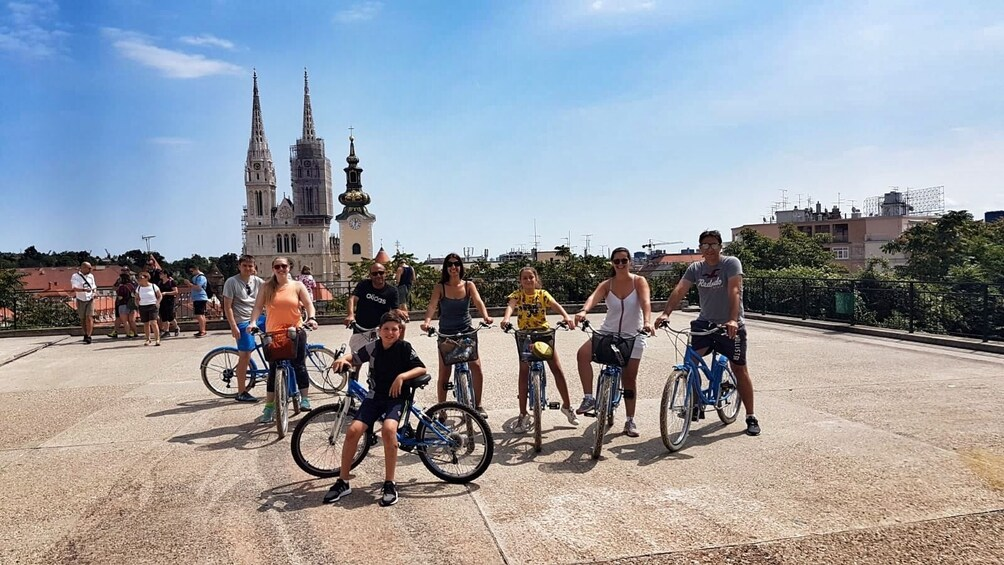 Show item 3 of 10. Small-Group Historic Zagreb Bike Tour