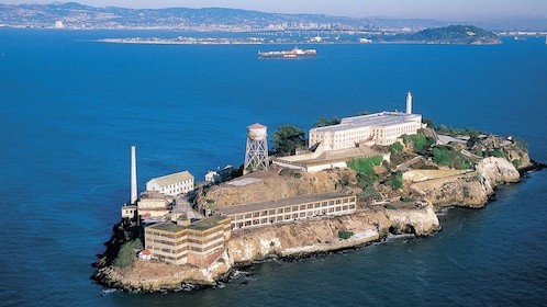View of Alcatraz in San Francisco
