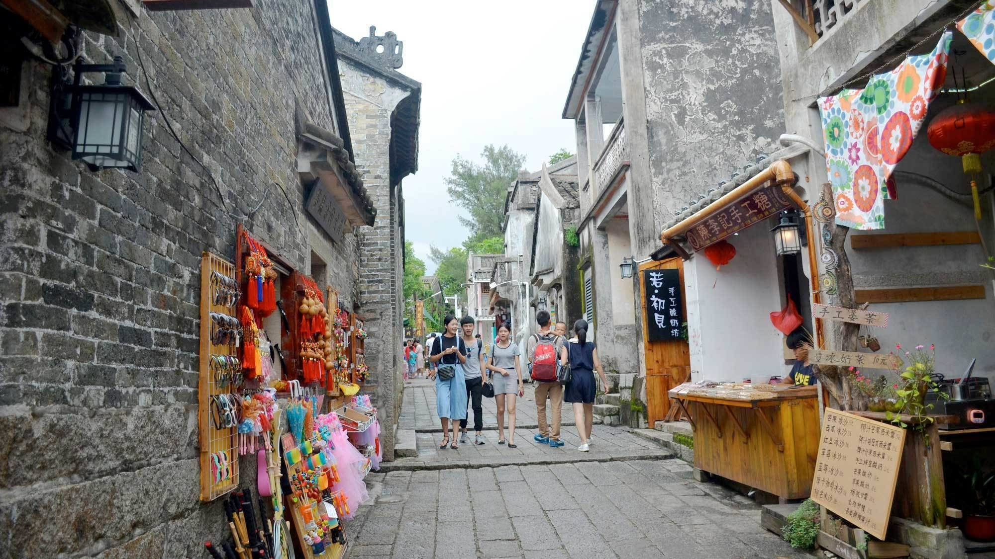 Street view in Shenzhen, China