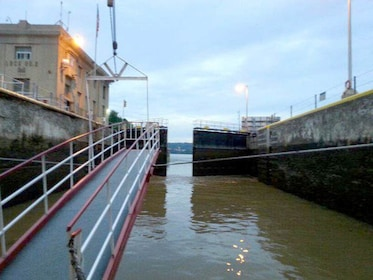 View of locks in Pittsburgh