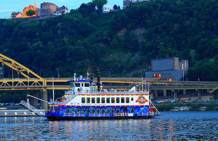 Boat on the river in Pittsburgh
