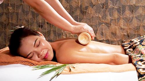 Woman getting a massage from the Somatic Therapy Package in Ho Chi Minh City