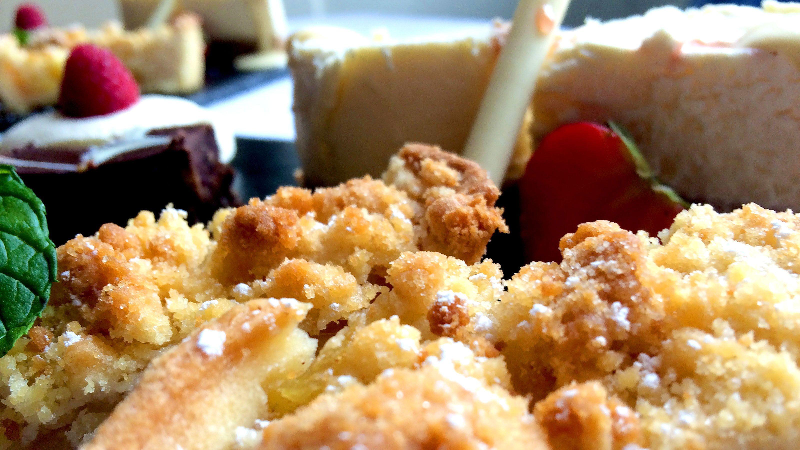 Dessert dishes served in a restaurant in Ireland