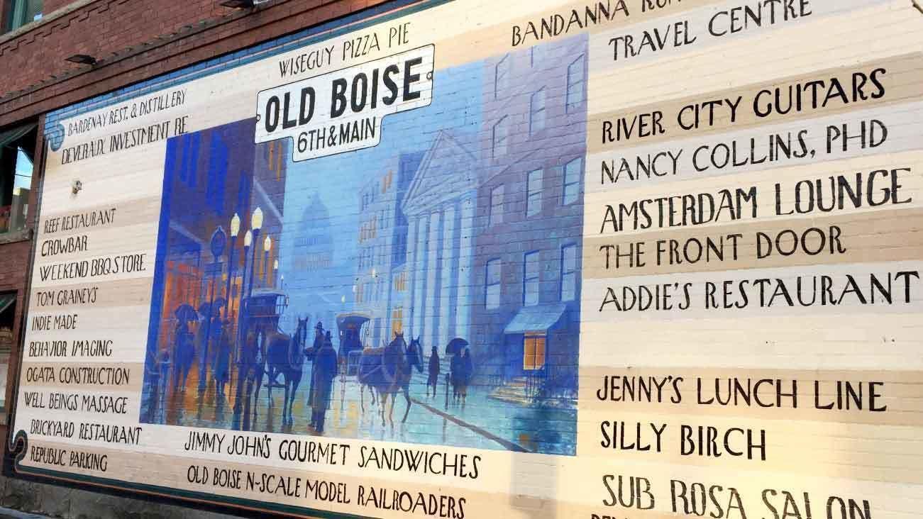 Downtown Boise Tour