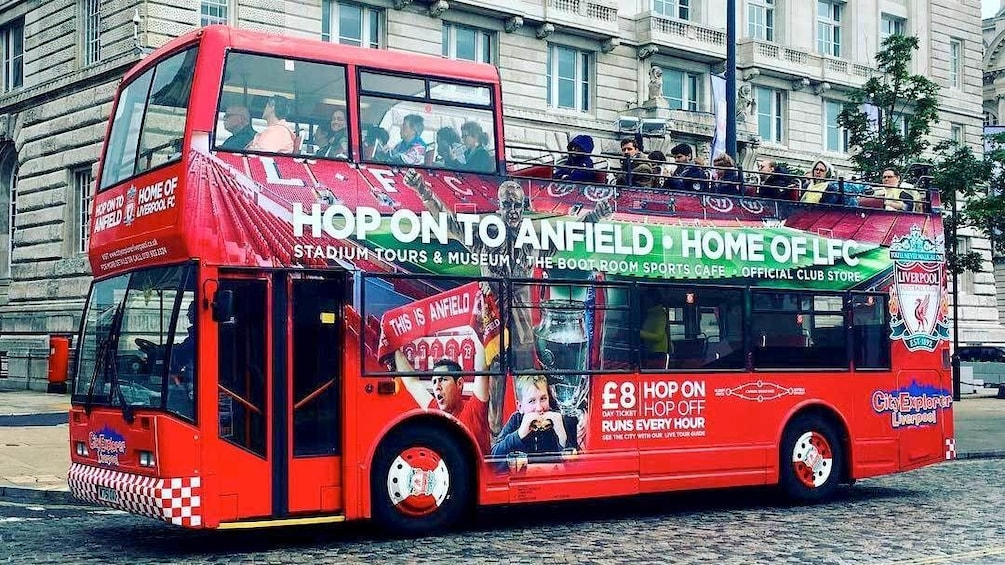 Show item 1 of 5. Hop-On to Anfield Bus Tour