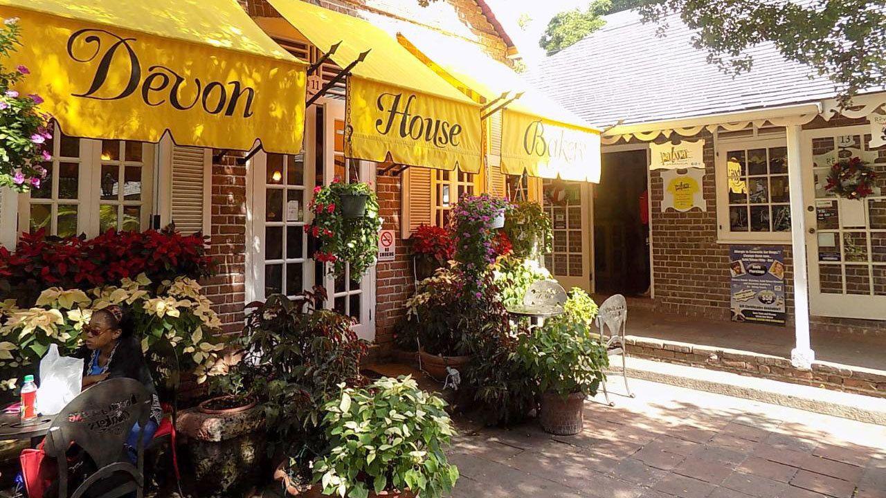 Devon House Bakery in Jamaica
