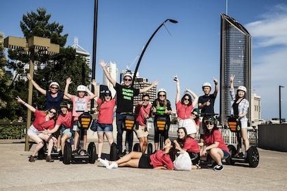 Group Brisbanes segway tour