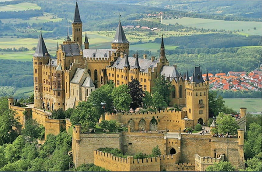 Show item 1 of 3. Full-Day Hohenzollern Castle Tour from Frankfurt