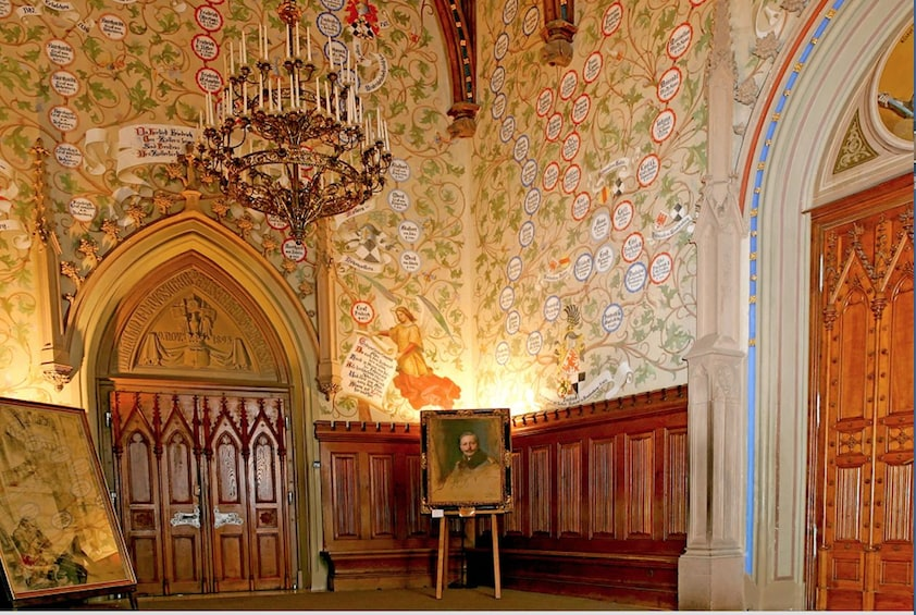 Show item 3 of 3. Full-Day Hohenzollern Castle Tour from Frankfurt