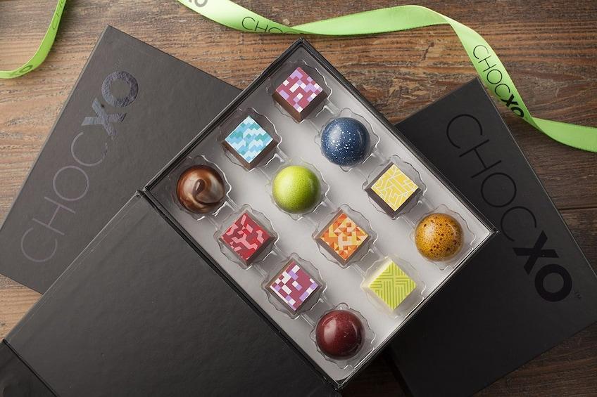Show item 1 of 2. Box of fancy chocolates in Orange County