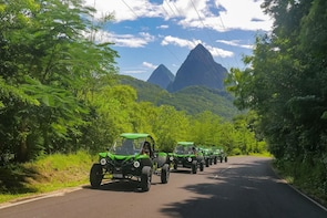 Soufriere Buggy Safari with Lunch