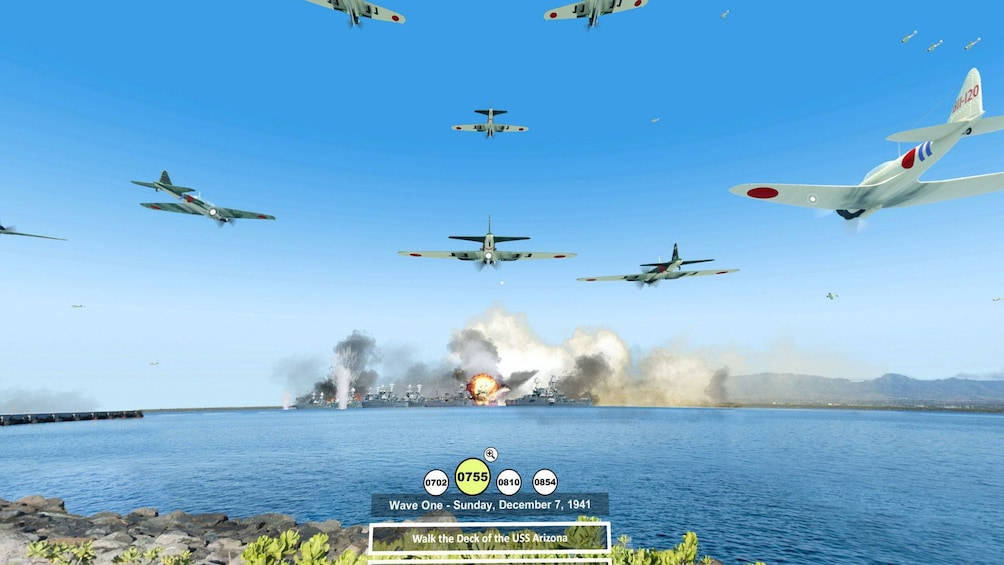 Foto 1 von 7 laden Virtual tour of Pearl Harbor