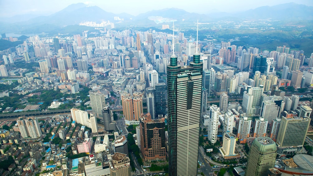 Show item 5 of 5. Aerial view of Shenzhen
