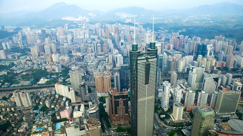 Aerial view of Shenzhen