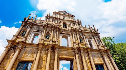 Ruins of St. Paul's in Santo António, Macau, China