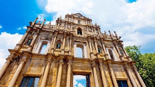 Ruins of St. Paul's in Santo António, Macau, China