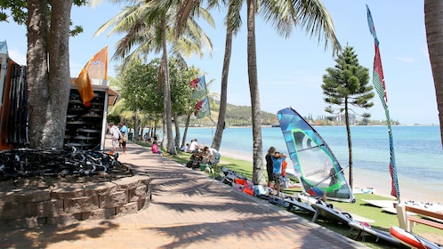 Beach views on the Guided City Tour Of Noumea