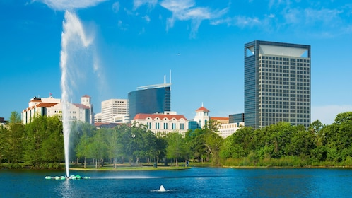 View of Texas medical center in Houston