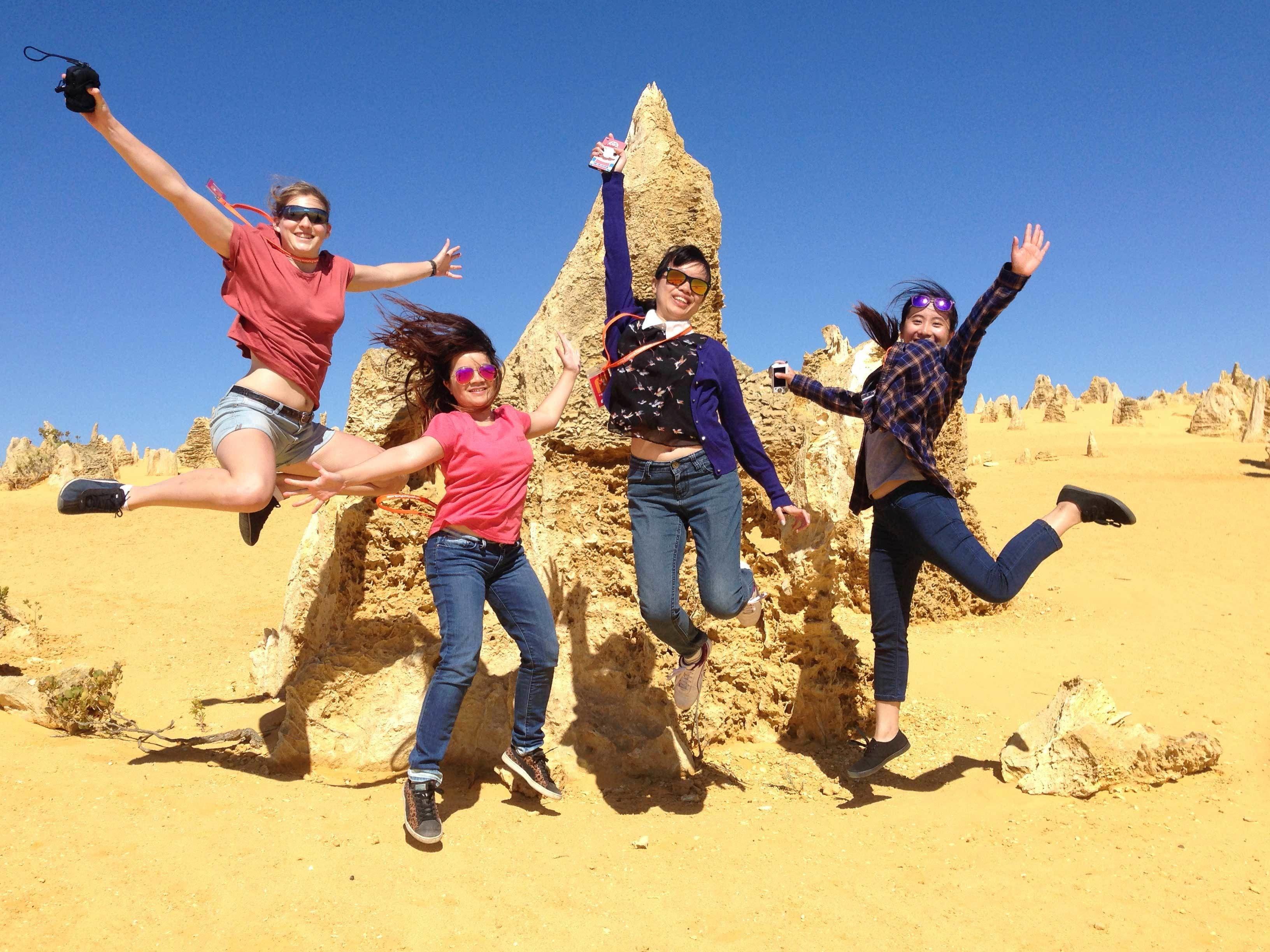 Pinnacles, Sandboarding and Swan Valley Wildlife Park Tour