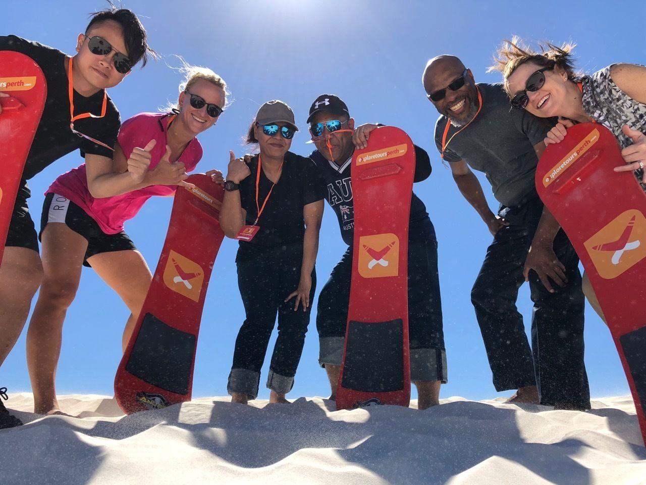 Pinnacles, Sandboarding and Yanchep National Park Tour