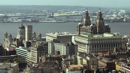 View of the city of Liverpool